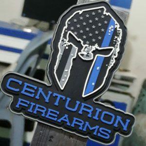 Centurion Firearms PVC Velcro Patch (Black)