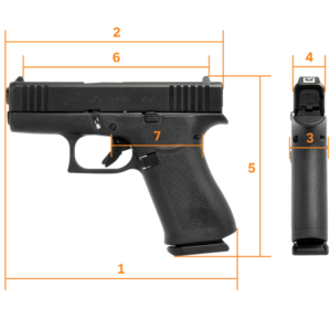 Glock 43X Brand New