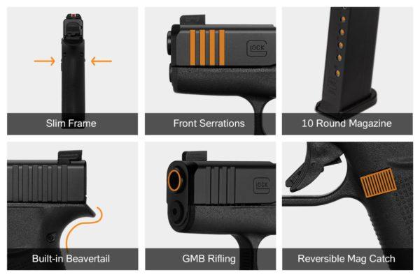 Glock 43 X Features
