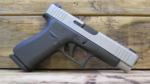 Glock 48 9mm 10-Round Pistol with Silver Slide