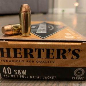 Herter's 40 caliber 180 Grain Ammunition