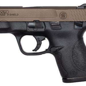 Smith & Wesson M&P 9 SHIELD 9MM MIDNIGHT BRONZE CERAKOTE SLIDE *EXCLUSIVE*